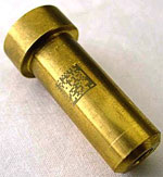 Laser Marked Brass Nut
